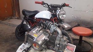 125cc Mankin rakentaminen!