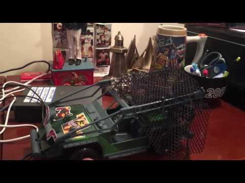 1995 Kenner Congo Net Trap Vehicle