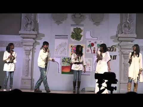 2011 Omaha Tamil New Year: Song Ensemble - Part 1