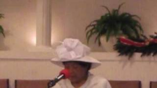 Mother Evelyn Boyd - Guide Me, O Thou Great Jehovah