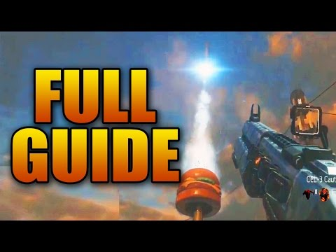 """Burger Town """"Infection"""" Exo Zombies Full Easter Egg Guide (Step by Step Tutorial)"""