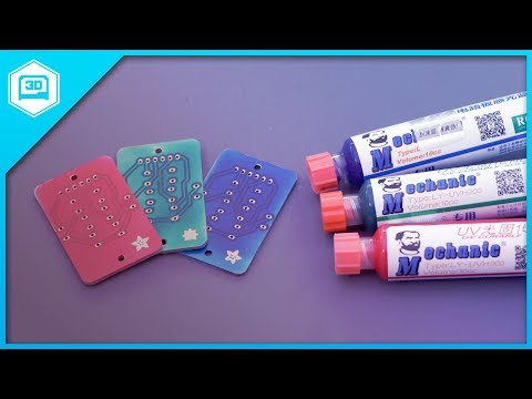 How to Solder Mask PCBs #Adafruit