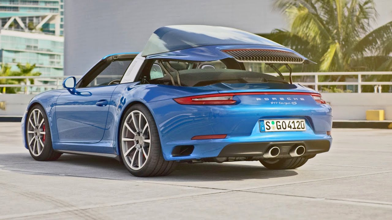 2016 porsche 911 targa 4 official trailer youtube. Black Bedroom Furniture Sets. Home Design Ideas
