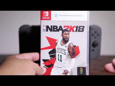 NBA 2k18; Switch Physical Copy Unboxing & Review