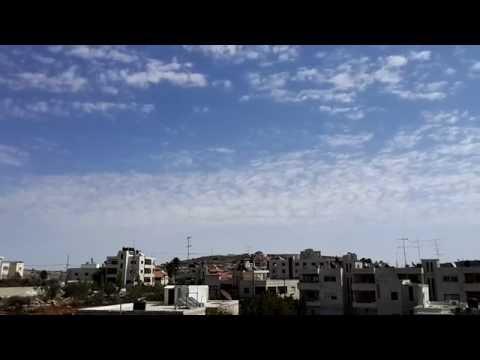Time-lapse of al bireh city / palestine
