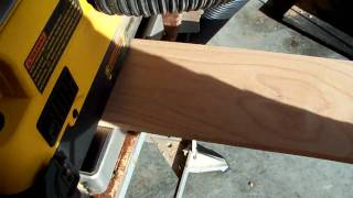 Dewalt Dw735 Planer In Action