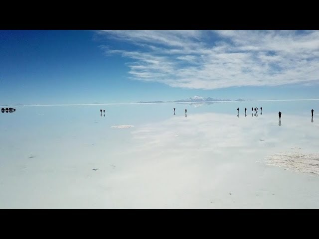 Flooded Salt Flats Look Like Giant Mirror