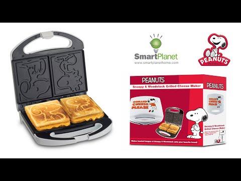 現貨 美國原裝 Snoopy 可愛史努比+糊塗塌客烤麵包機 烤吐司機 三明治機 早餐 下午茶 聖誕交換禮物 新年禮