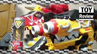 파워레인저 다이노포스 다이노셀 sb 스페셜 브레이브 음성확인 가브리볼버 가브티라 카니발 power ranger dino charge by 키즈와이 kids why