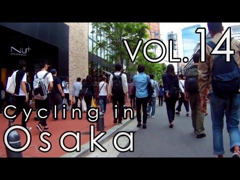 大阪の街を走る (14) 大阪梅田・茶屋町~阪急東通商店街 Cycling in Osaka vol.14 Osaka Umeda Chayamachi