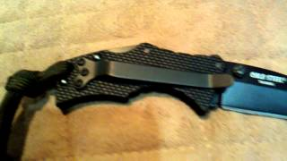 cold steel micro recon 1 tanto with belt clip si