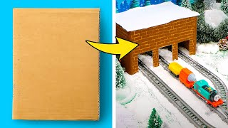COOL WINTER HOLIDAY HACKS || Gift Ideas and Funny Crafts with Thomas & Friends™