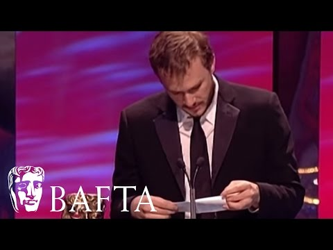 Heath Ledger Accepts the Adapted Screenplay Award for Brokeback Mountain in 2006