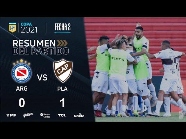 Copa de la Liga | Fecha 2 | resumen de Argentinos - Platense
