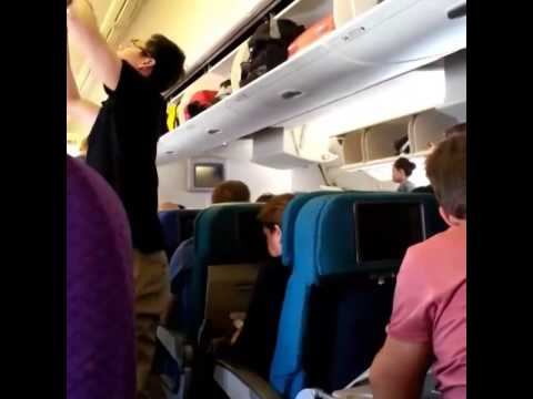 Video on board of Malaysian MH17 Boeing 777 before crashes at Ukraine