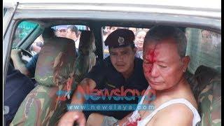 Exclusive!! Kumar Fudong Kutpit, Ex army senior beaten by locals, Itahari ll.