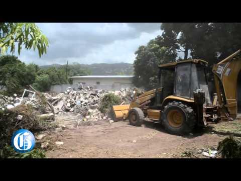 VIDEO: Vybz Kartel's Havendale house demolished