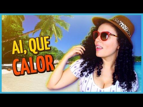 Dica que estou usando para não DESTRUIR meu cabelo no SOL - Verão, Piscina - Minha Praia.