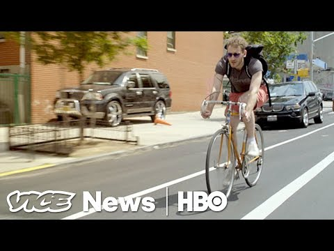 How To Survive On A Bike Courier's Salary — And Still Buy Weed (HBO)