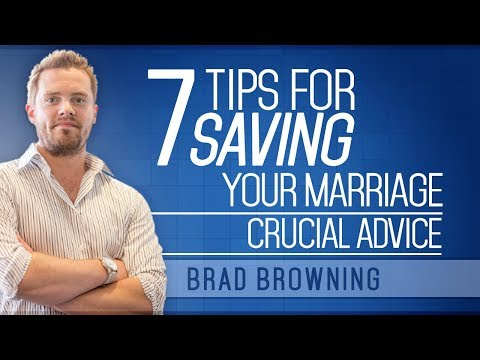 7 Tips For Saving Your Marriage (Don't Ignore This Crucial Advice!)