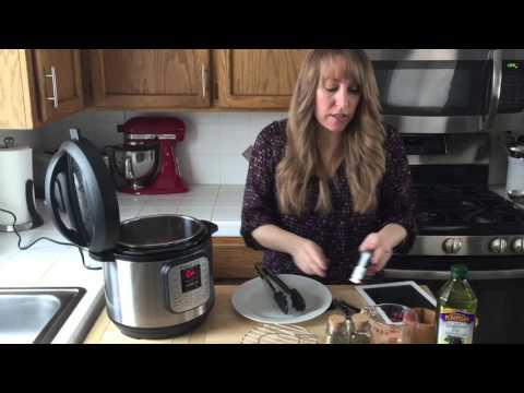 How to cook frozen boneless chicken breasts in instant pot