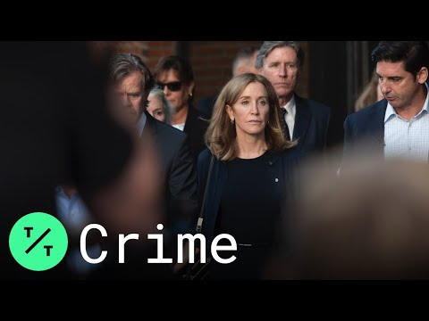 Felicity Huffman reports to prison, begins sentence in college admissions scandal