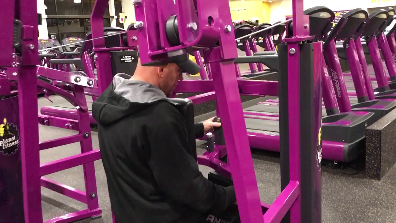 Planet Fitness Front Pulldown Machine How To Use The Front Pulldown Machine At Planet Fitness Planet Fitness Workout Planet Fitness Machines Workout Machines
