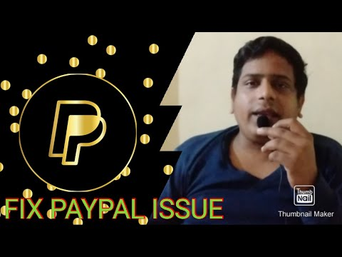 How to fix paypal bank account linking issues which generally occurs while creating a paypal account