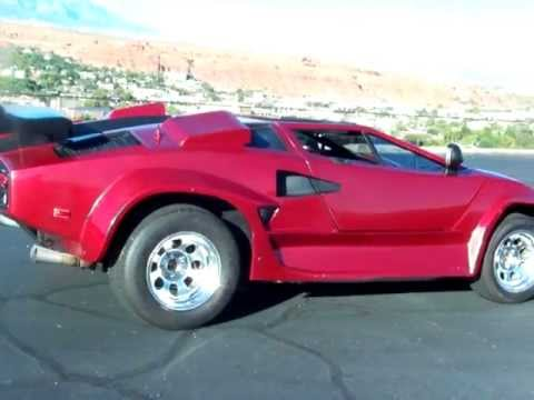 1987 lamborghini countach replica youtube. Black Bedroom Furniture Sets. Home Design Ideas