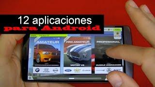 Mis 12 aplicaciones para un smartphone Android