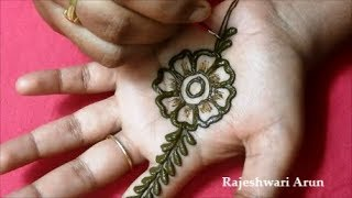 Simple Easy Mehndi Design For Hands 2018 * New Latest Henna Mehndi Design For Wedding, Marriages