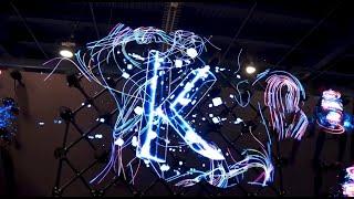 3D Голограма 3D голографический вентилятор