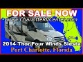 2014 Thor Solera Siesta 24SR Used Class C Motorhome FOR SALE; Stock# 1114