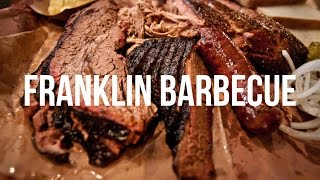 Get in line for Franklin Barbecue - Texas's most popular BBQ joint.
