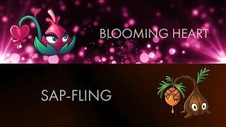 Plants Vs Zombies 2 Teams II Sap-Fling and Blooming Heart