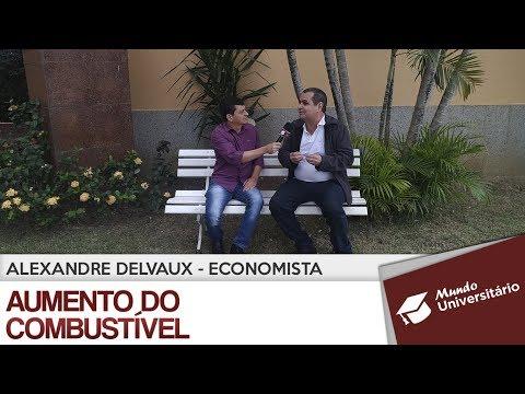 Alexandre Delvaux fala sobre o aumento do combustível