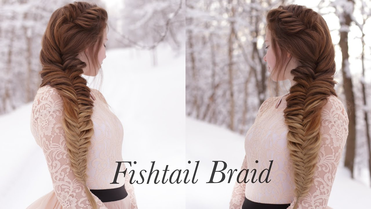 Side Fishtail Braid - YouTube