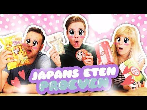 JAPANS ETEN PROEVEN!