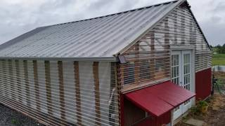 Greenhouse Roofing Material - You've probably never heard about this material