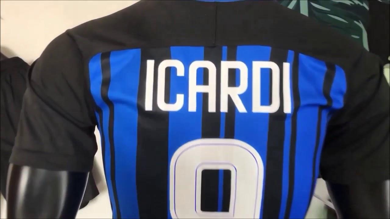16185eefa Camisa Inter Milão Uniforme 1 2017-2018 Fans - YouTube