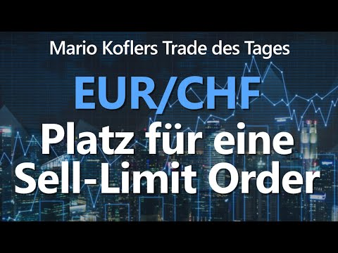 Trade Des Tages - Follow-Up-Setup Für Den EUR/CHF