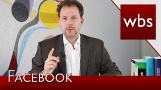 Warum die neuen Facebook Nutzungsbedingungen rechtswidrig sind