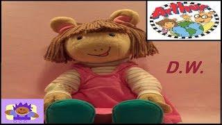 1998 PBS Arthur Actimates Interactive Unterhaltung D. W. Plüsch Von Microsoft Corp.