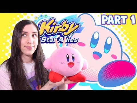 Kirby Star Allies First Impressions & Reactions! Part 1