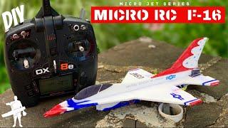 DIY RC Micro F-16 [FREE PLANS]