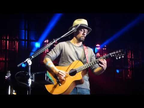 """Bella Luna"" by Jason Mraz - 25.11.2012 in Düsseldorf, ""word is a four letter word"" tour"