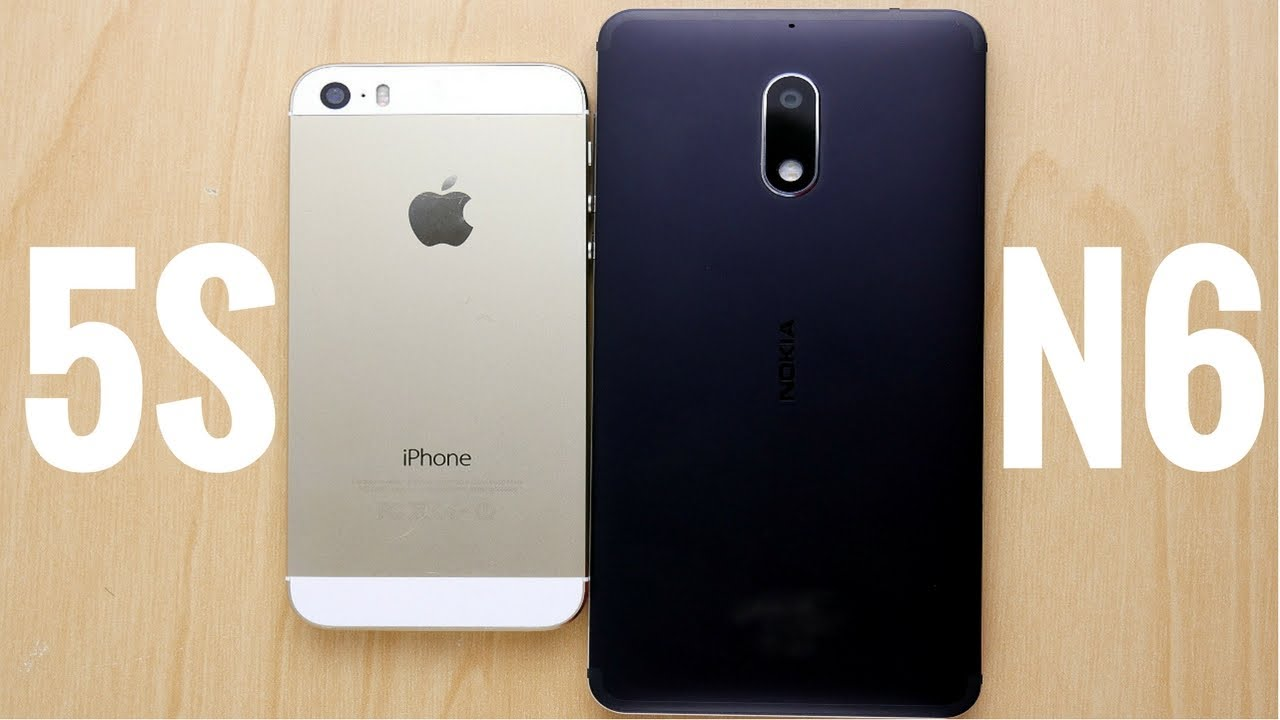 test iphone 5s vs 6