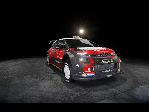 WRC 7 | Rally Italia Sardegna | Ittiri Arena | Meeke Kris | Abu Dhabi Total World Rally Team |