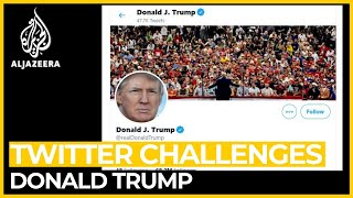 Why did Twitter take years to challenge US President Trump?