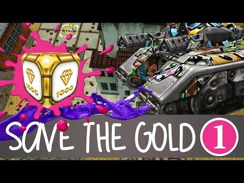 Save The GOLD #1    Silence Mammoth M2 + Twins M3 Graffiti